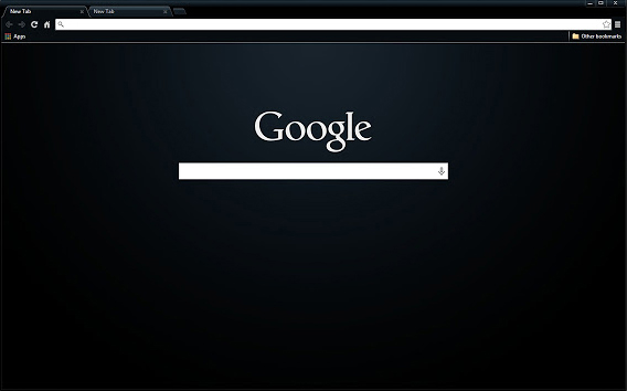 Dark Pro Chrome Theme