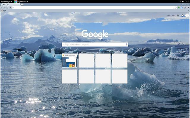 Fascinating Iceland Chrome Theme