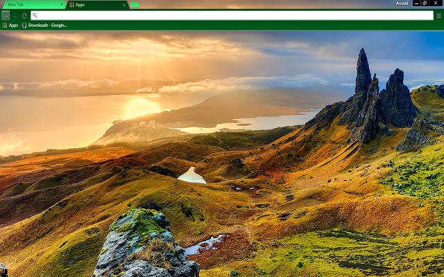 Isle Of Skye Scotland Chrome Theme