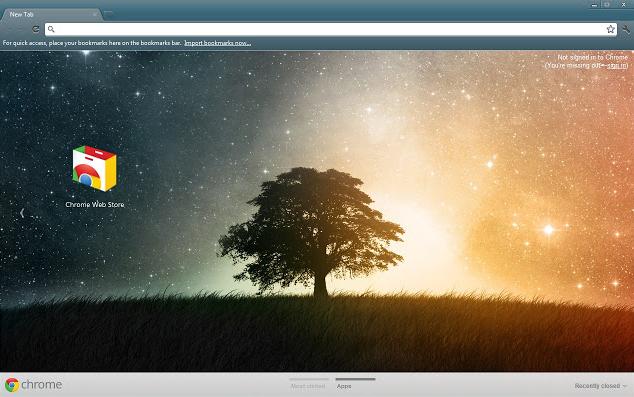 Lone Tree Chrome Theme