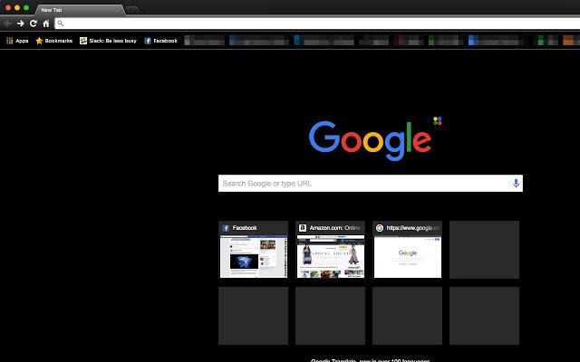 Morpheon Dark Chrome Theme