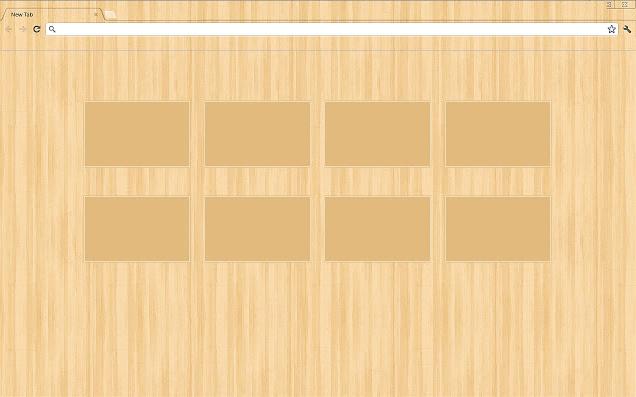 Slinky Wood Chrome Theme