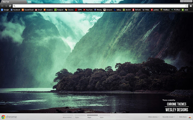 Theme For Google Chrome