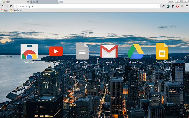 City Beautiful Chrome Theme