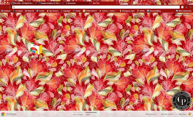 CPDD-Floral Redux Chrome Theme