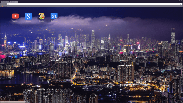 Hong Kong City Chrome Theme