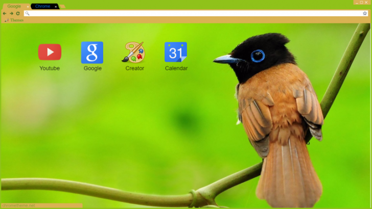 Bird Chrome Theme