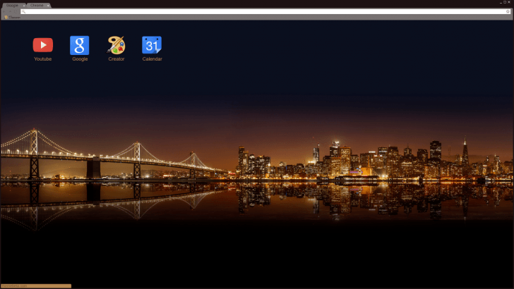 San Francisco Chrome Theme