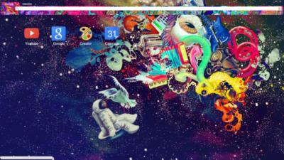 Trippy As Chrome Theme