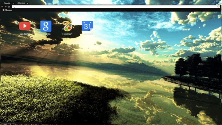 Light From The Sky Chrome Theme