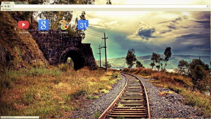 Railrod Chrome Theme