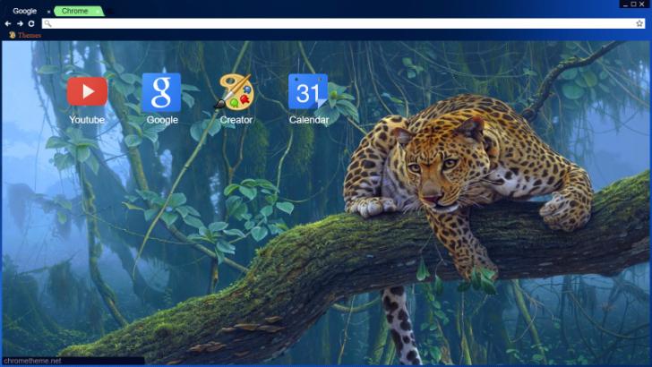 Leopard Chrome Theme