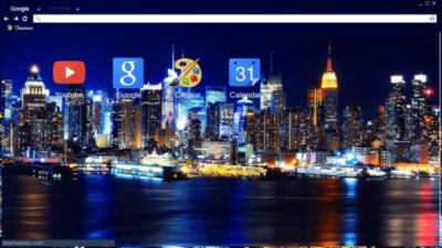 City Skyline Chrome Theme