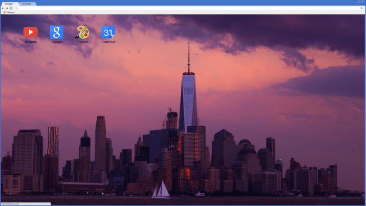 NYC Chrome Theme