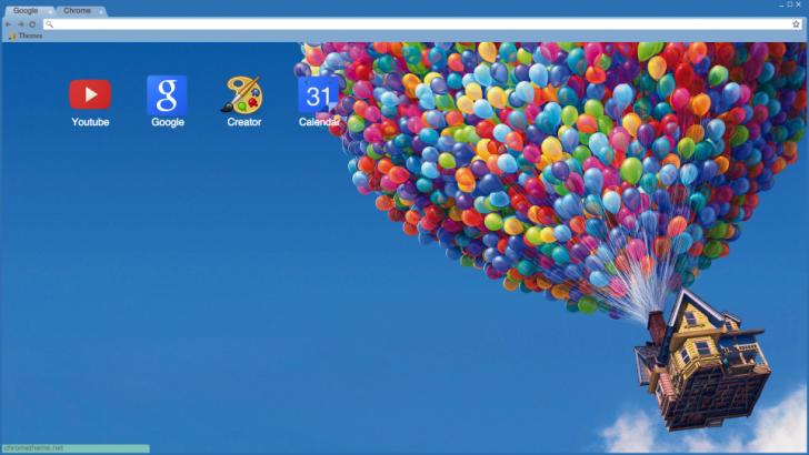 Up Chrome Theme