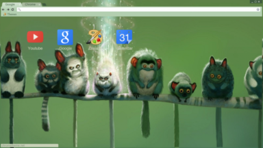 Lemurs Chrome Theme