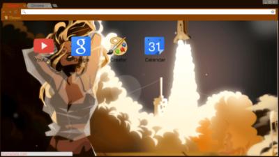 Ascension Nita Chrome Theme