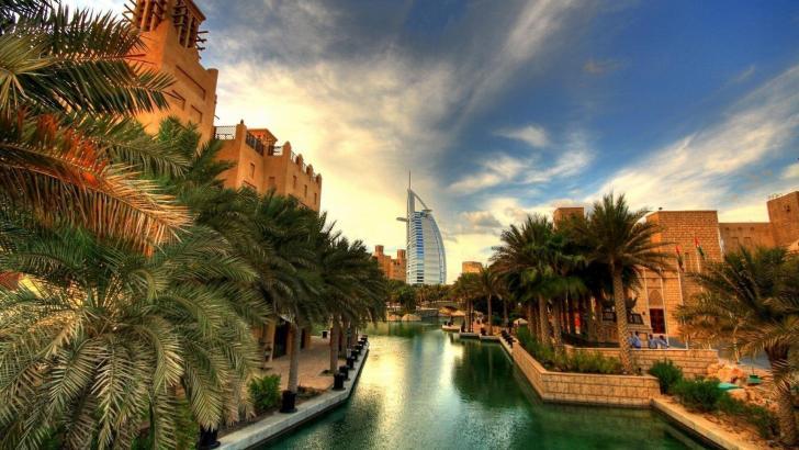 Chill Dubai Chrome Theme