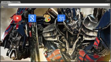 Transfomers Prime Chrome Theme