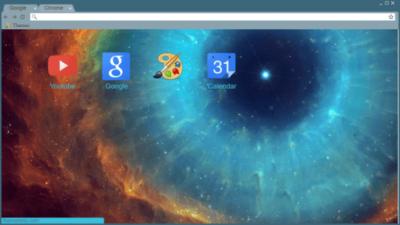 Nebula Chrome Theme