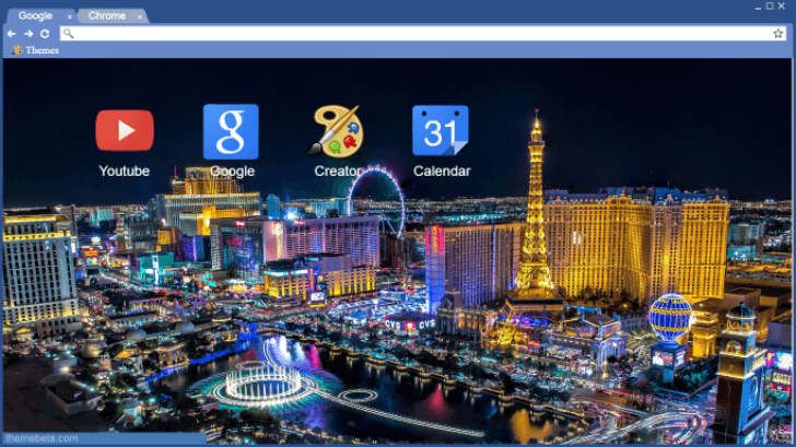 Sin City Chrome Theme