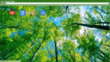 Trees Chrome Theme