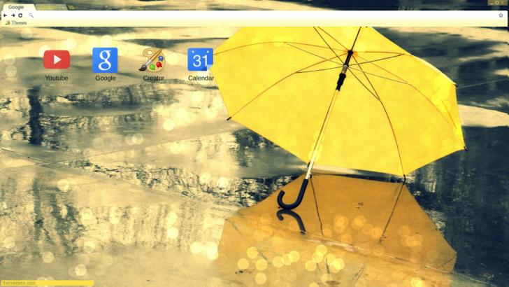 Rainy Spring Day Chrome Theme