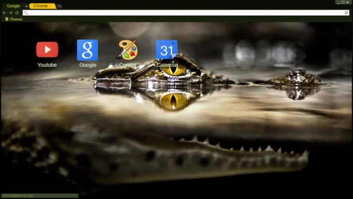 Baby 'Croc Chrome Theme