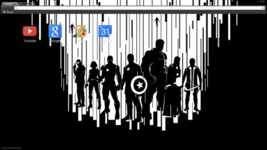 Avengers 2 Age of Ultron – Artwork Chrome Theme