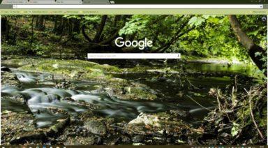 Tolka River Chrome Theme
