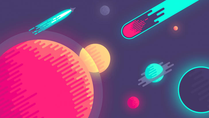 Fancy Space Chrome Theme
