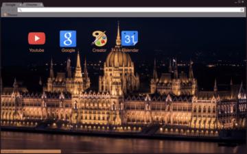 Budapest Parliament Chrome Theme