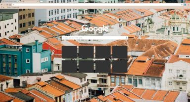 Orange Roofs Chrome Theme
