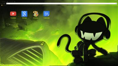 Monstercat Chrome Theme