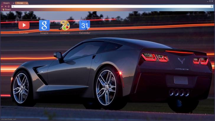 Corvette Chrome Theme