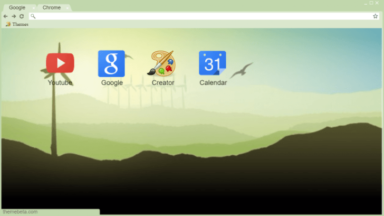 Simple Countryside Chrome Theme