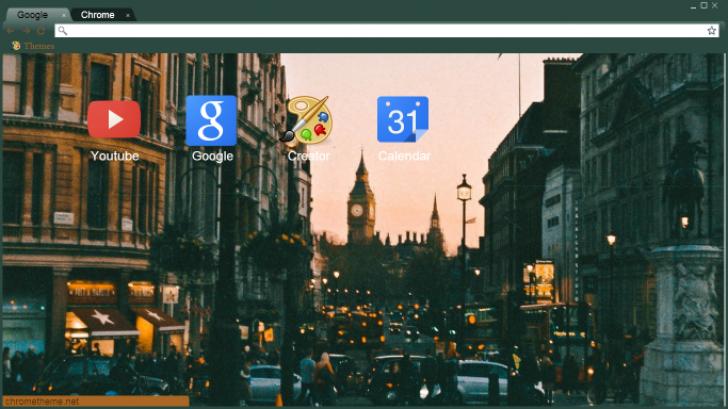 London – United Kingdom – England Chrome Theme