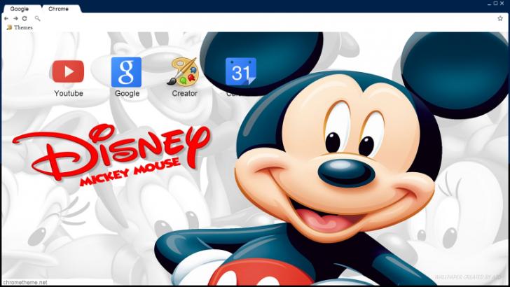 Mickey Mouse Chrome Theme