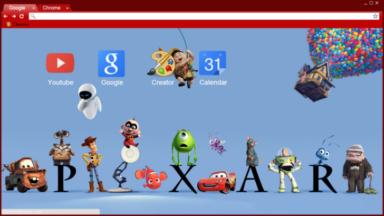 Pixar Chrome Theme