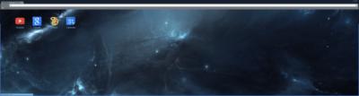 Deep Space Chrome Theme