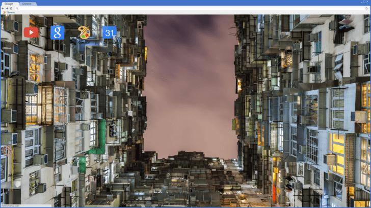 Hong Kong Box Apartments Chrome Theme