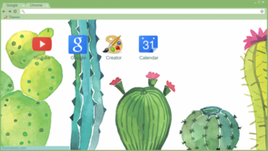 Cactus Chrome Theme
