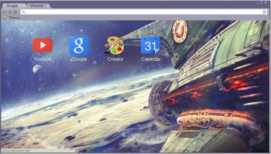 Planet Express Chrome Theme