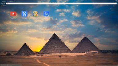 Pyramids Chrome Theme