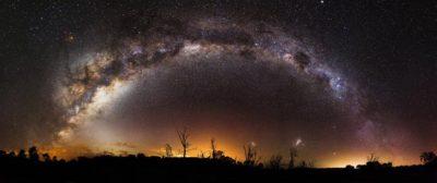 Milky Way Chrome Theme
