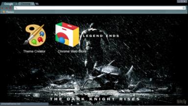 The Legend Ends Chrome Theme
