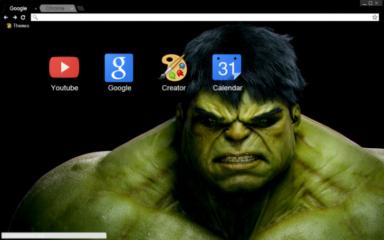 Hulk Chrome Theme
