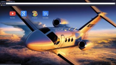 Airplane Chrome Theme