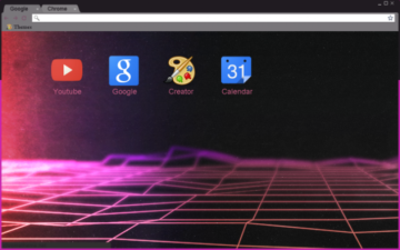 V A P O R_W A V E_G R I D Chrome Theme