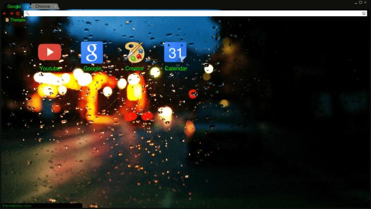 Looking Glass Chrome Theme